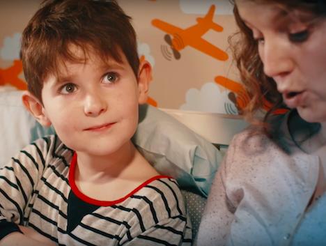 Reklamní spot pro Celé Česko čte dětem